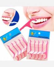 Зубочистка с зубной нитью, набор 25 штук. 9046196