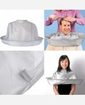 Защитная накидка-воротник для стрижки и окраски волос 9046193