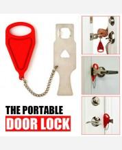 Портативный замок-накладка для двери 9046434