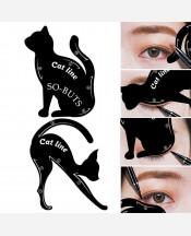 """Трафареты для макияжа """"Кошки"""" набор из 2 шт. 9046424"""