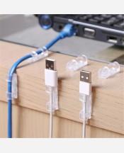 Фиксирующий зажим для кабеля с липучками, 20 шт в упак 9046454
