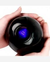 """Шар-предсказатель на русском языке """"Magic ball 8"""". Диаметр 10 см. Осторожно! Портится на морозе. 904007"""