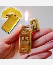 "Зажигалка ""Слиток золота плоский под Zippo"" 903189"