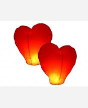 Небесный фонарик в форме сердца . 903634