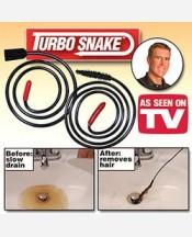 Инструмент Turbo Snake для чистки стоков + крючок 903982