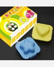 "Формочки для яиц или риса ""Звездочка+Сердце"", 2 шт. в наборе 904237"