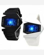 LED-часы «Истребитель» Черный ремешок 903470