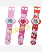 Часы наручные детские Hello Kitty проекционные. Упаковка блистер 903601