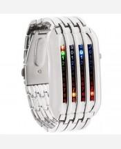 """LED-часы """"Матрица 4 линии"""" 903438"""