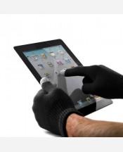 Перчатки для сенсорных экранов цвет черный. 904010