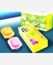 """Формочки для яиц или риса """"Зайчик+мишка"""", 2 шт в наборе 904238"""