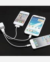Универсальный кабель 3 в 1 для зарядки от usb для iPhone, IPad и Mini Usb-совместимых девайсов 904653