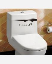 """Наклейка в ванную комнату """"Привет"""" 904760"""