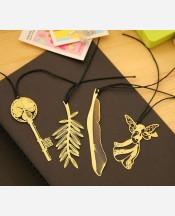 """Закладка для книг Золото """"Gold"""", фигурки в ассортим. 904792"""