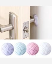 Защита стен от ударов дверной ручки, резиновая наклейка 9046031