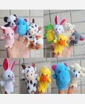 """Набор игрушек на пальцы """"Звери"""", 10 штук 904636"""