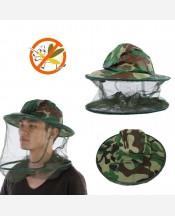 Шляпа с москитной сеткой от комаров и др. насекомых 9046227
