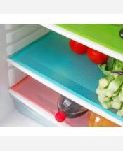 Антибактериальные коврики для холодильника, набор 4 шт 9046242
