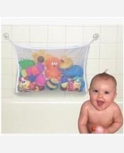 Сетка для игрушек и мелочей в ванную на присосках 904809