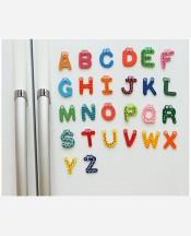 Набор магнитов Английский Алфавит, 26 шт 9046328