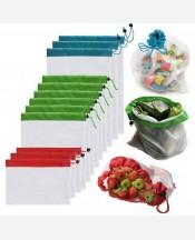 Экопакеты набор 3 шт для продуктов, детских игрушек и др 9046365