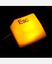 "Светильник ""Клавиша Esc, Ctrl, Del"". Работа от USB 903595"